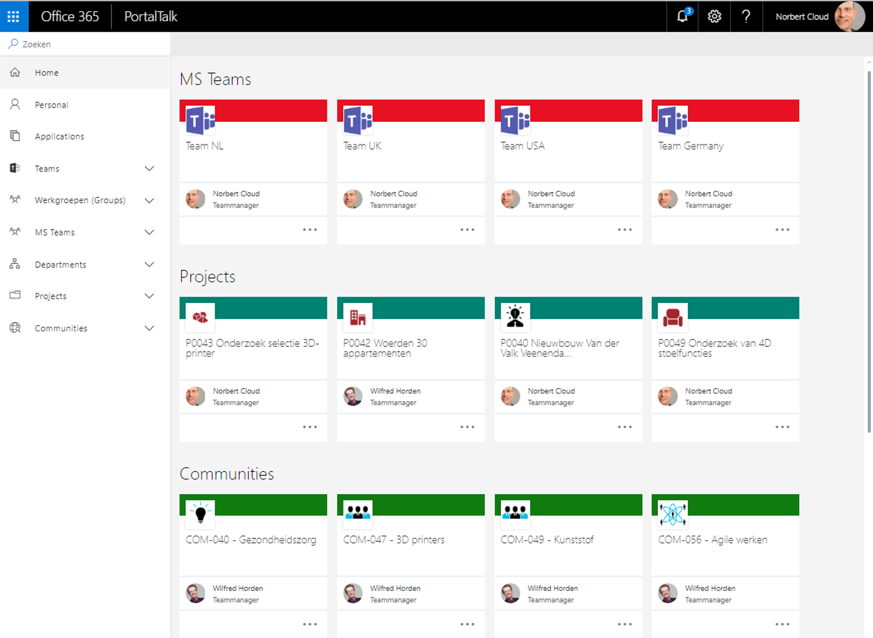PortalTalk 365 screenshot
